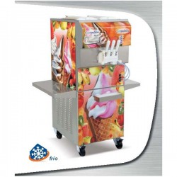 Máquina soft/frozen yogurt KLASS 202 KOLOR